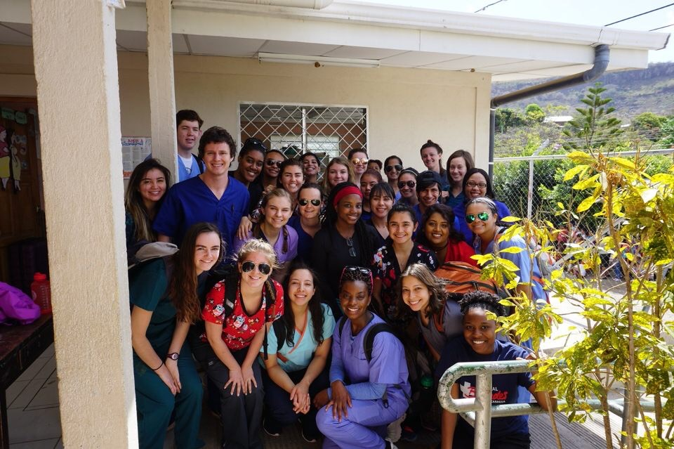 UNC Charlotte students in Nicaragua