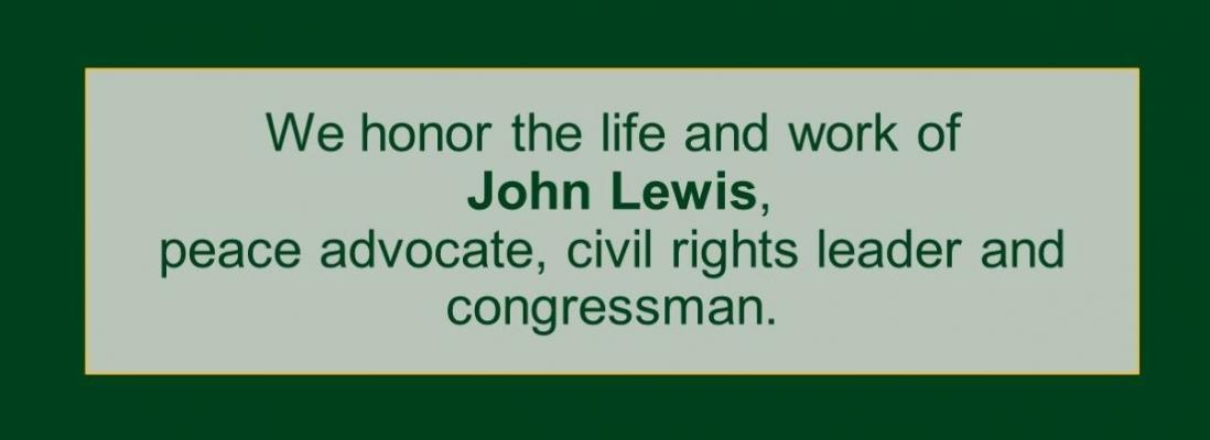 Honoring John Lewis