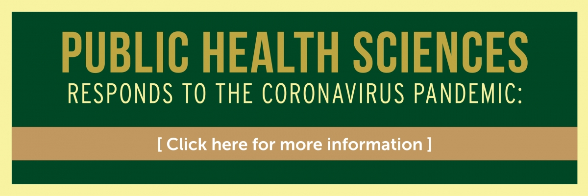 UNC Charlotte Department of Public Health Sciences responds to the COVID-19 pandemic