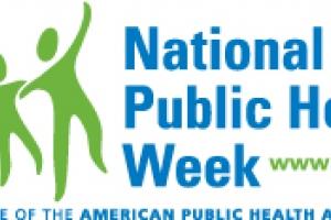 National Public Health Week logo