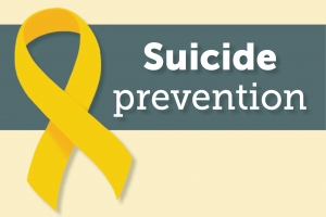 Suicide prevention graphic