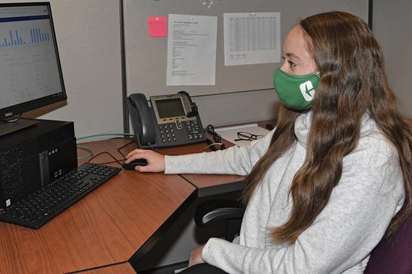 UNC Charlotte student Kristen Allen