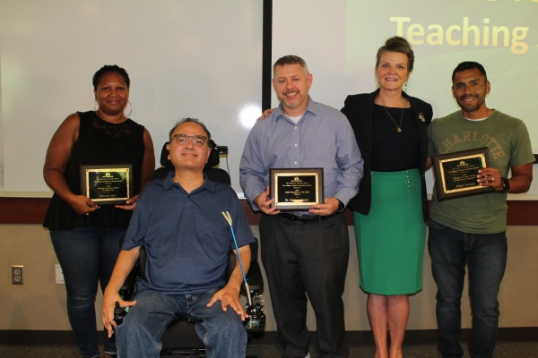 College of Health and Human Services Award Winners 2018-2019